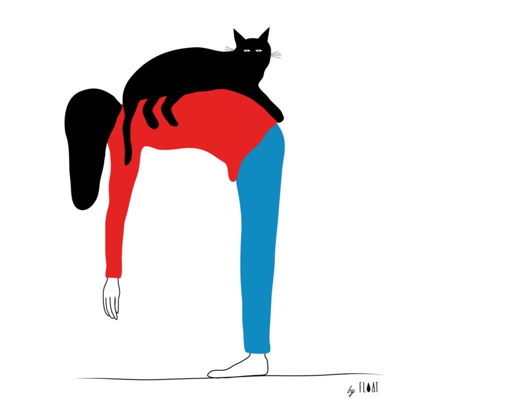 Illustration Yogat by Float